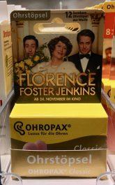Ohropax Filmwerbung Florence Foster Jenkins
