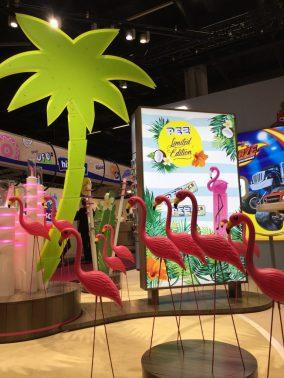 PEZ Flamingos Kokos
