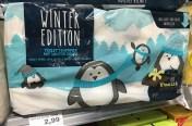 Wepa Toilettenpapier mit Winterdekor und Duft Vanille-Schokolade
