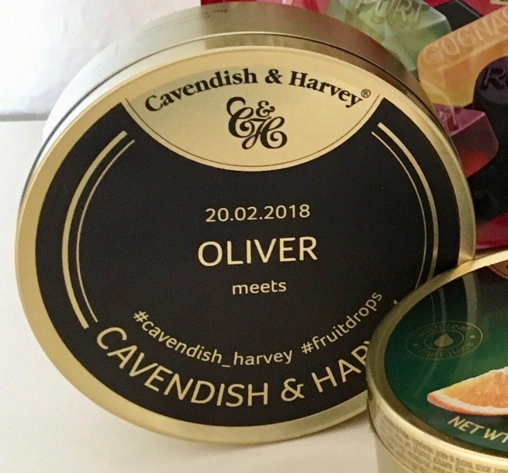 Cavendish-Harvey-Personalisierte Dose