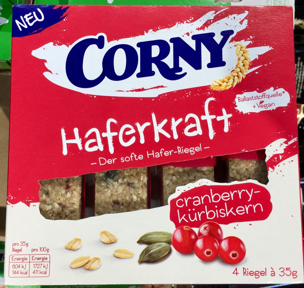Corny Haferkraft Cranberry-Kürbiskern