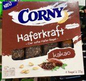 Schwartau Corny Haferkraft Kakao