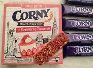 Schwartau Corny Müsliriegel Strawberry Cheesecake Limited Edition
