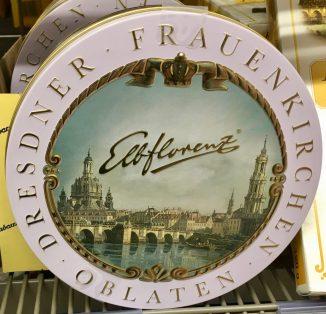 Elbflorenz Dresdner Frauenkirchen Oblaten
