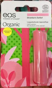 EOS Organic Strawberry Sorbet