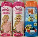 Malef Duschgel Barbie und Minions