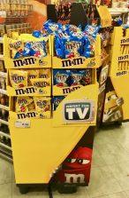 Mars M+M Aufsteller Perfekt zum TV