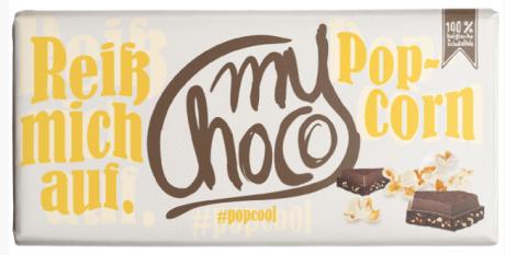 MyChoco Popcorn Schokolade