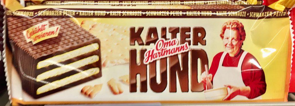Sächsische und Dresdner Back- und Süßwaren Oma Hartmanns Kalter hund Ganzer Kuchen