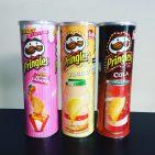Pringles-Sorten aus Asien Butter Caramel Yogurt Cola