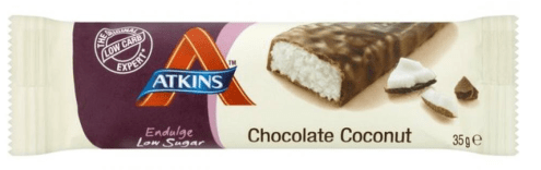 Atkins Chocolate Coconut Riegel