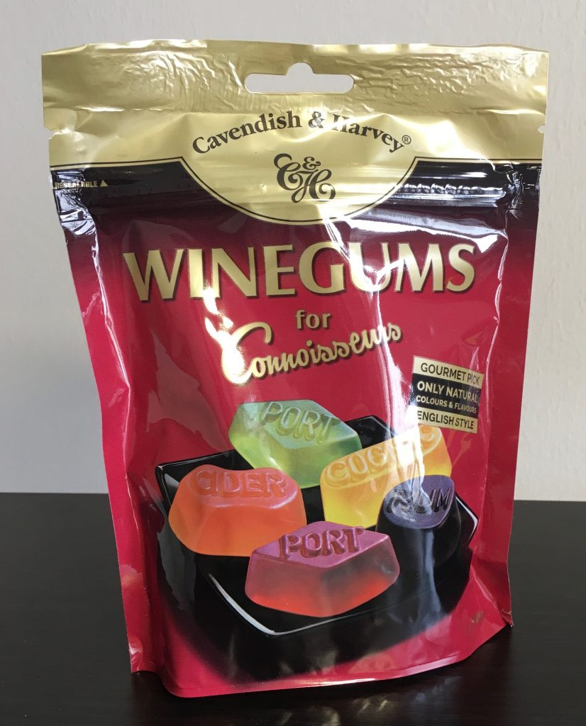 Cavendish and Harvey Winegums for Connoisseurs