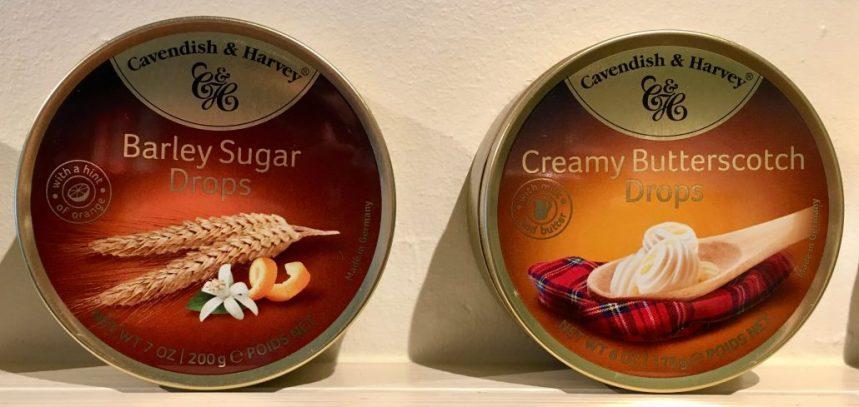 Cavendish & Harvey Barley Sugar Drops Creamy Butterscotch