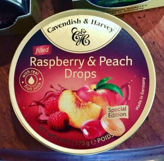 Cavendish + Harvey Raspbery & Peach Drops
