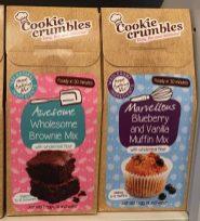 Cookie Crumbles Brownie Mix und Muffin Mix Kuchenbackmischungen