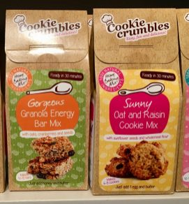 Cookie Crumbles Granola Bar Mix Cookie Mix
