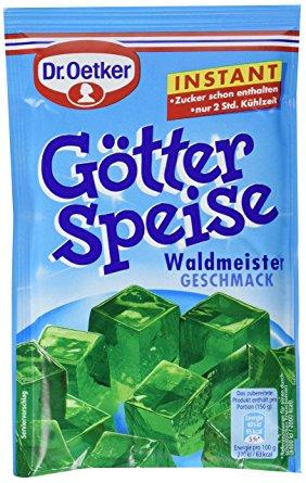 Dr Oetker Götterspeise Waldmeister Pulver