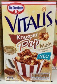 Dr Oetker Vitalis Müsli Schoko Popcorn