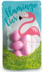 Dragierte Flamingo-Eier