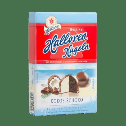 Halloren Kugeln Kokos Schokolade