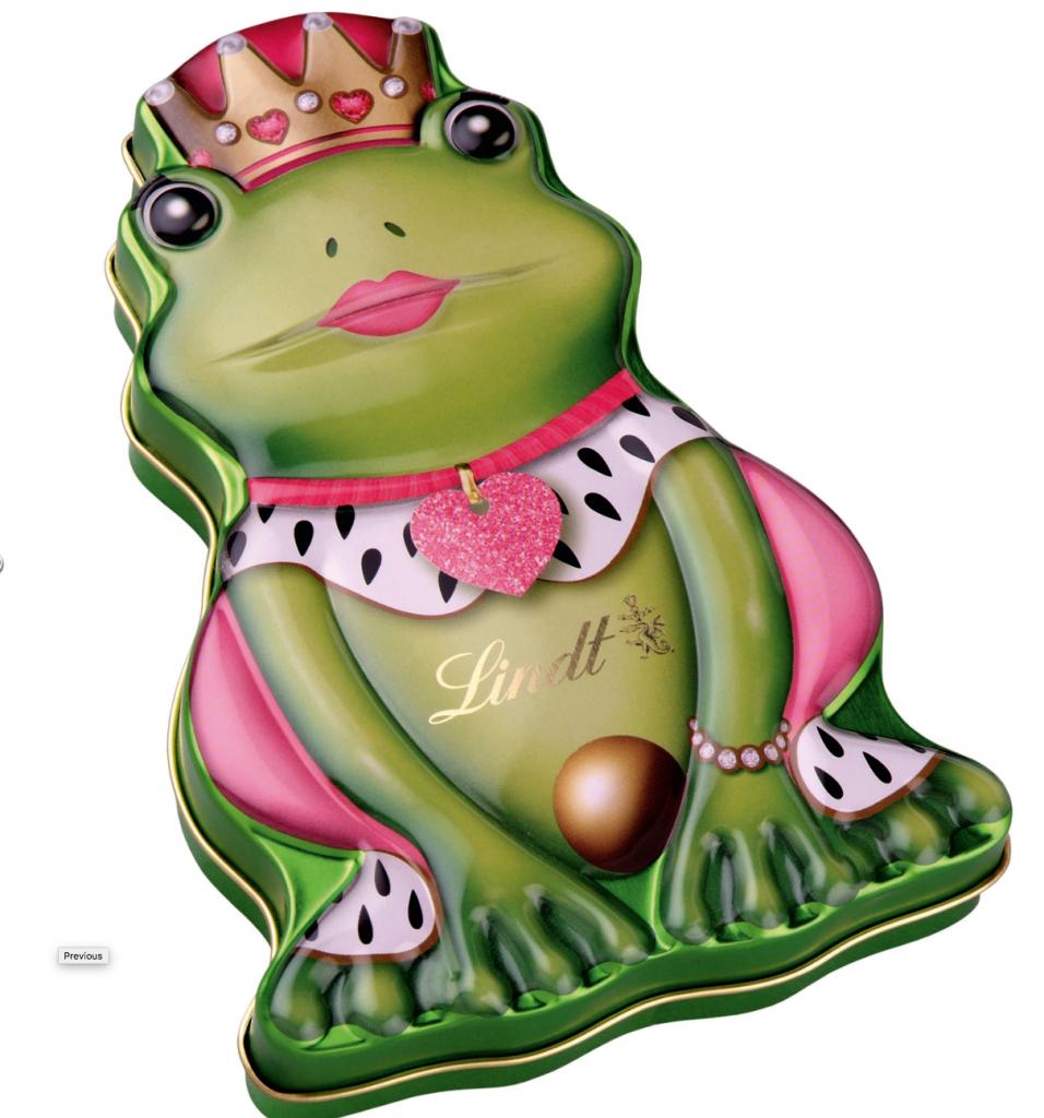 Lindt Froschkönigin Pralinendose