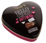 Lindt Hello a tiny little something just for you Schokoladenherzen Schmuckdose Herz