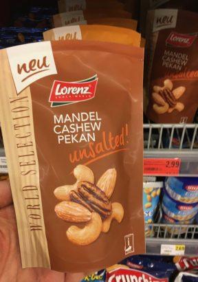 Lorenz Mandel Cashew Pekan unsalted