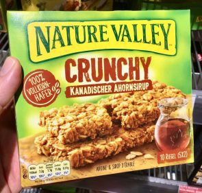 General Mills Nature Valley Crunchy Kanadischer Ahornsirup