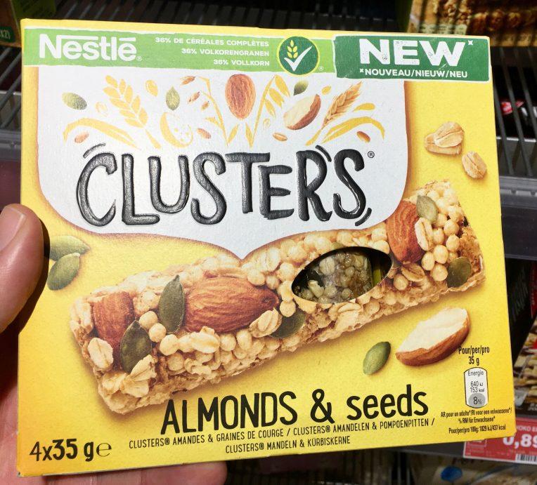 Nestle Clusters Almonds und Seeds
