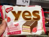Nestle Yes Torty Himbeere-Buttermilch
