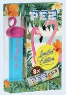 PEZ Flamingo-Dispenser blau Limited Edition