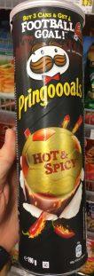 Pringles Pringoooals Hot & Spicy WM 2018
