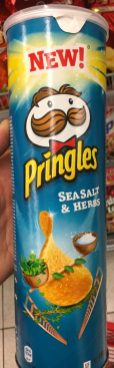 Pringles Sea Salt + Herbs