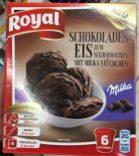 Royal Schokoladeneis-Pulver mit Milka