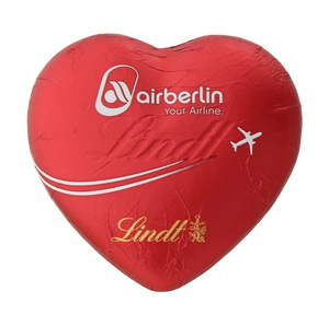 Schokoherz Air Berlin Lindt
