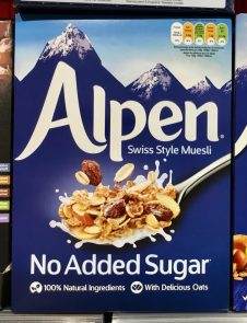 Genuport Alpen-Müsli ohne Zucker
