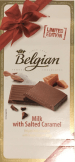 Belgian Chocolate Milk with Salted Caramel