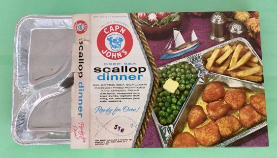 Cap'n John's TV-Dinner Scallop Dinner