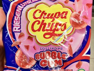Chupa Chups Riesenlutscher Bubble Gum Lollipops
