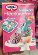 Dr. Oetker Dekorier-Set Meerjungfrau Dekore