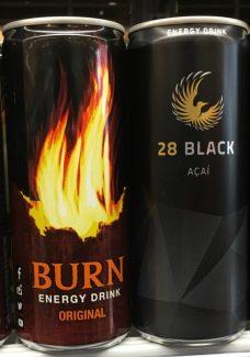 Energydrink Burn 28 Black Acai Dosen