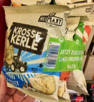 Heimart Krosse Kerle 4er-Bündel Chips