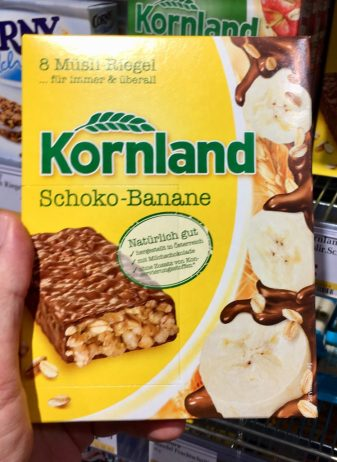 Kornland Schoko-Banane Müsliriegel