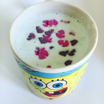 Krüger You Mermaid Latte im Spongebob-Becher