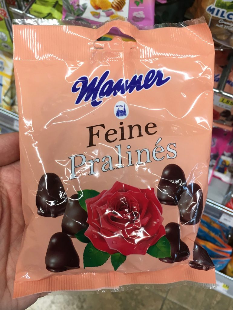 Manner Schokoladenwaren: Feine Pralinés