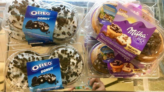 Milka Oreo Donuts Teilgwaren Frischboxen