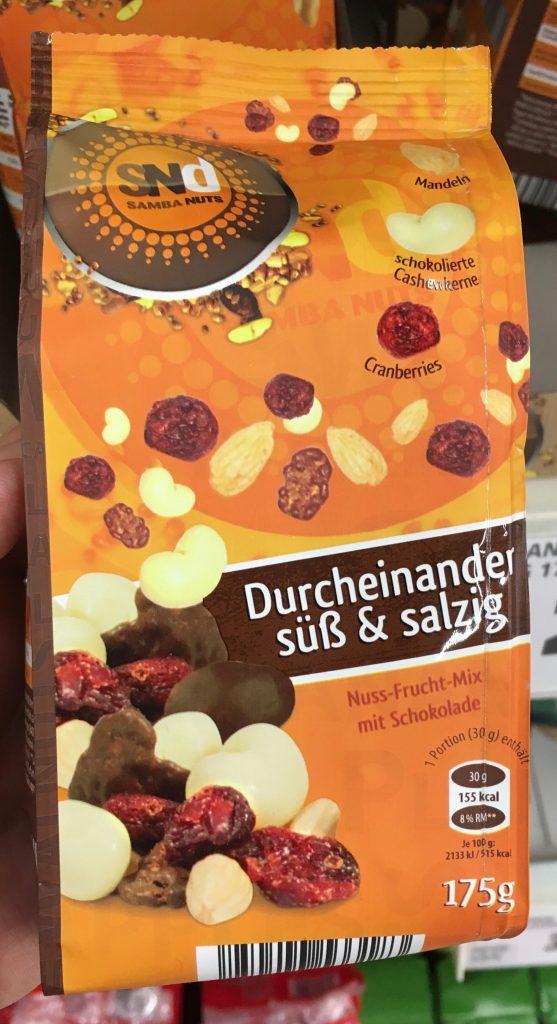 SNd Samba Nuts Durcheinander süß&salzig