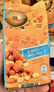 SNd Samba Nuts Erdnuss-Mais-Mix Teigummantelte Erdnüsse mit Mais