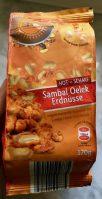 Samba Nuts Deutschland mit Sambal Oelek Erdnüssen: Zu scharf für mich!