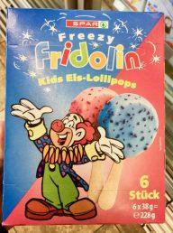 Spar Fridolin Kids Eis-Lollipops